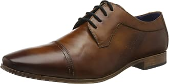 Bugatti Mens 312420152100 Derbys, Brown (Cognac 6300), 10.5 UK