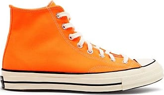 Converse Chuck 70 Canvas High-top Trainers - Mens - Orange