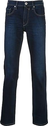 Paige Calça jeans slim Federal cintura média - Azul
