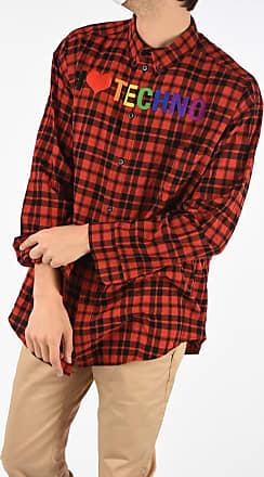 Balenciaga Checked Print Shirt Größe 37