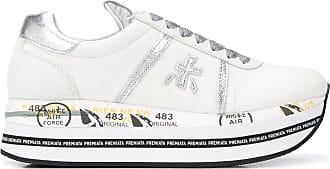 Premiata Sneakers Beth con suola a righe - Di colore bianco