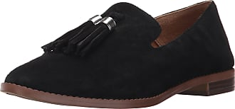 Franco Sarto Womens Hadden Loafer Flat, Black, 8 B(M) US