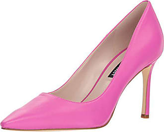 Nine West Womens EMMALA Leather Pump, Pink, 10.5 M US