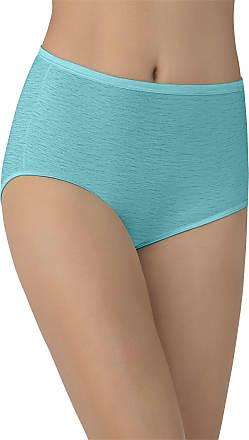 Vanity Fair Womens Illumination Brief Panty 13109, Rainforest Aqua, Large