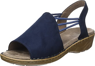 Jenny KORSIKA, Womens Ankle Strap Sandals, Blue (blue), 4 UK (37 EU)