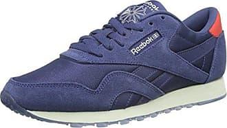 0b29a26060d219 Reebok Damen Classic Nylon Core Sneaker Blau (Midnight Blue Chalk) 37 EU