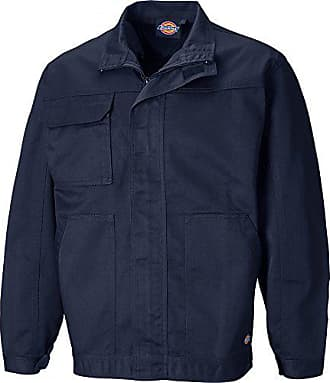 Dickies ED24 7JK, Veste de Travail Homme, Bleu (Marine), X 0a78018a6216