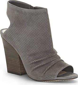 Vince Camuto Womens KENTVI Fabric Open Toe Slingback Mules, Grey, Size 11.0 US/US