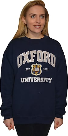 Oxford University OU201 Unisex Licensed Sweatshirt Navy (XL)