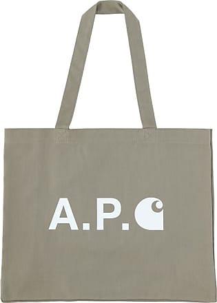 A.P.C. A.p.c. Carhartt wip alan shopping bag KAKI U