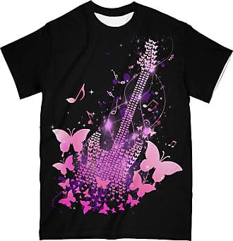 NA Butterfly Guitar 3D Shirt