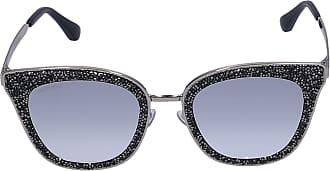 Jimmy Choo London Sonnenbrille Wayfarer LIZZY 3YGIC Metall gold
