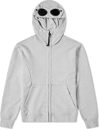 C.P. Company Schwergewicht Fleece Goggle Zip Hoody Grey Melange - xl