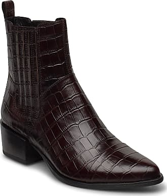 Vagabond Marja Shoes Boots Ankle Boots Ankle Boots With Heel Brun VAGABOND