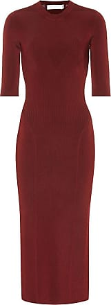 Victoria Beckham Stretch bodycon midi dress