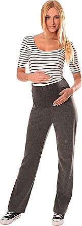 Purpless Maternity Wide Leg Yoga Lounge Gym Pregnancy Trousers Over Bump Belly Support for Pregnant Women 1300 (8 Long, Dark Gray)