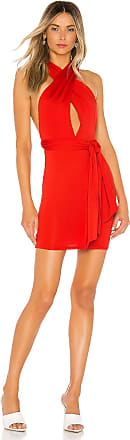 Superdown Shiloh Multi Way Dress in Red