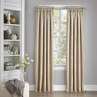 Eclipse Mallory Blackout Floral Curtain Midnight - 15455052084MDN