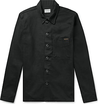 Nudie Jeans Sten Denim Shirt Jacket - Black