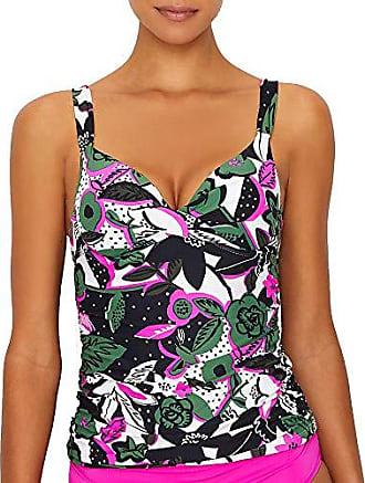 bbb905e354e Anne Cole Womens Twist Front Underwire Cup Sized Tankini Swim Top