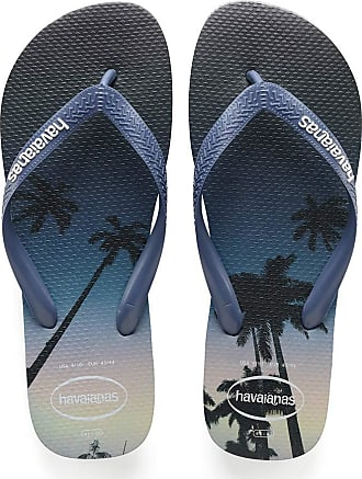 Havaianas Mens Hype Flip Flops, Navy Blue/Blue Star/White, 12/13 UK 47/48 EU