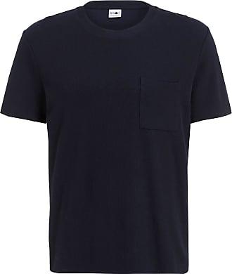 Nn.07 T-Shirt CLIVE - DUNKELBLAU