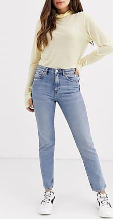 Weekday Seattle - Mom-Jeans-Blau