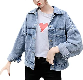 Saoye Fashion Embroidery Jean Jacket Women Spring Autumn Young Fashion Removable Hooded Feast Clothing Denim Outerwear Women Simple Korean Style Boyfriend Loose Out