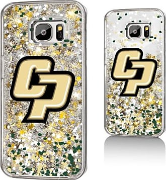 Keyscaper CP Cal Poly Mustangs Confetti Glitter Case for Galaxy S7