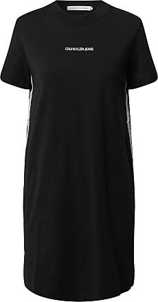 Calvin Klein Jeans Shirtkleid schwarz