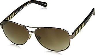 e6ec0d41abe Kate Spade New York Kate Spade Womens Dalia s Us Aviator Sunglasses BRWN  HVNA 58