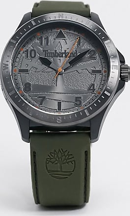 Timberland silicone watch in black