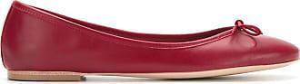 Sarah Chofakian Ballerine con fiocco - Di colore rosso