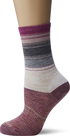 Smartwool Sulawesi Stripe Womens Socks Small Medium Grey