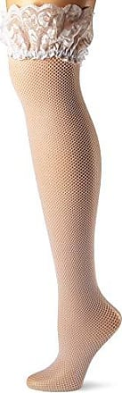 3a72e82e830 Seven til Midnight Seven Til Midnight Womens Plus-Size Fishnet Thigh High  With Lace Top