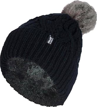 Heat Holders 1 Ladies Genuine Heatweaver Thermal Winter Warm HAT 5 Variations - Alesund, Nora, Solna, Areden, Lund (Black - SOLNA)