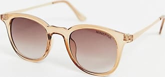Minkpink MinkPink Paradiso transparent rounded sunglasses