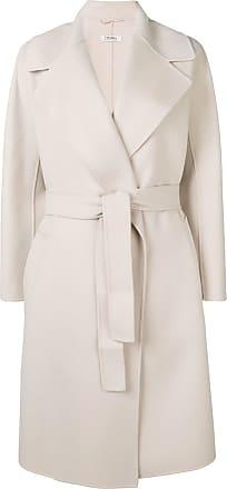 Max Mara wrap-around coat - Neutrals