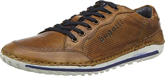 Bugatti Mens 321712014100 Low-Top Sneakers, Brown (Cognac 6300), 9.5 UK