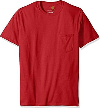 Gold Toe Mens Pocket T-Shirt, Independence Red, X-Large