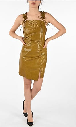 Drome Leather Dress with Split size M