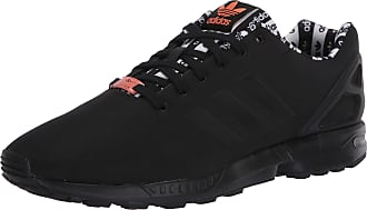 adidas Originals Mens ZX Flux Sneaker, core Black/core Black/Semi Coral, 10.5 M US