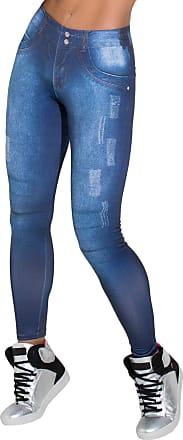 Kaisan Calça Kaisan Jeans Sublimada Azul