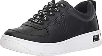 Guess Womens Hype Sneaker, Black, 9 M US
