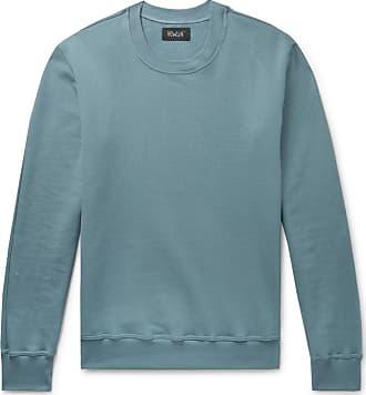 4e29bcf6c9f9ba Howlin Fleece-back Cotton-jersey Sweatshirt - Blue