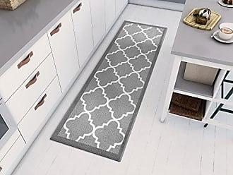 Well Woven 65182 Kings Court Brooklyn Trellis Modern Grey Geometric Lattice 2 x 7 Runner Indoor/Outdoor Area Rug