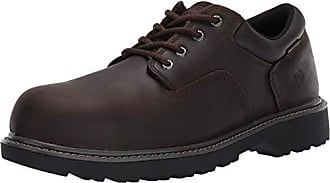 Wolverine Mens Floorhand Oxford Steel Toe Construction Shoe, Brown, 7.5 W US
