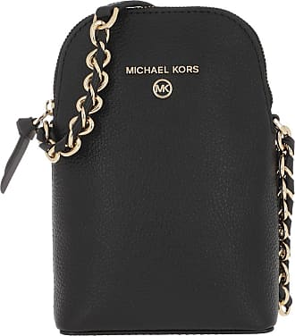 Michael Kors Cross Body Bags - Small Chain Phone Crossbody Black - black - Cross Body Bags for ladies