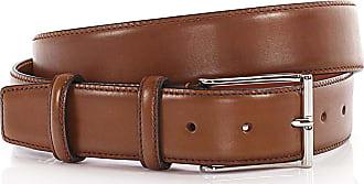 Santoni Mens Belt leather beige