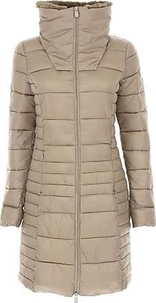 Save The Duck Womens Coat On Sale, Alluminium, polyester, 2017, 2 (M - 42/44)